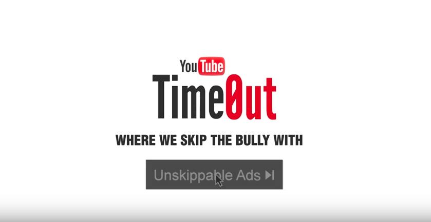 Ciberbullying TimOut de Youtube