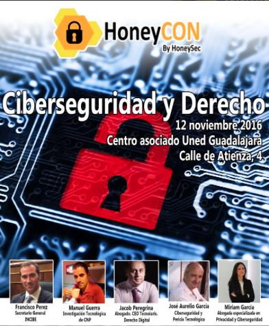HoneyCON Ciberseguridad y Derecho