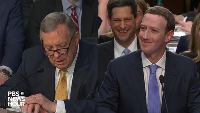 Zuckerberg CEO de Facbook en el Senado - Rafael Hormigos