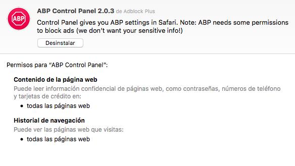 Extensiones gratuitas a cambio de tu privacidad